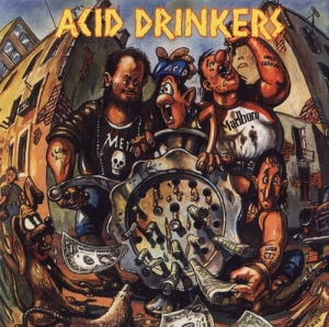 Acid Drinkers ‎– Dirty Money, Dirty Tricks CD
