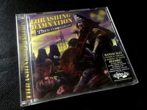 Thrashing Damnation thru Compilation CD
