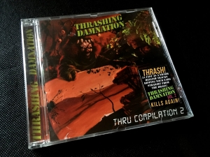 Thrashing Damnation thru Compilation vol. 2 CD