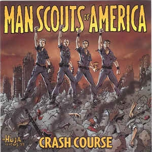 Man Scouts Of America ‎– Crash Course CD