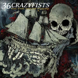 36 Crazyfists ‎– The Tide And Its Takers CD