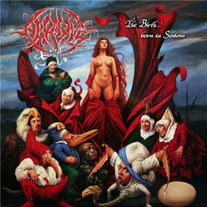 Abrasive ‎– The Birth... Born In Sodom CD