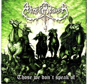 Abrekadaver ‎– Those We Don't Speak Of CD