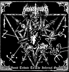 Nekkrofukk ‎– Blood Vomit Tribute To The Infernal Goatlords CD