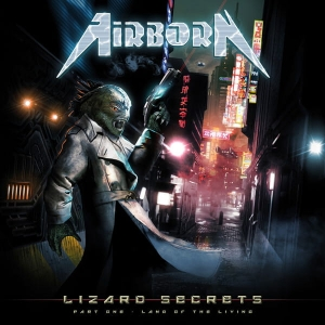 Airborn ‎– Lizard Secrets - Part One - Land of the Living CD