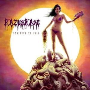 Razorrape ‎– Stripped To Kill CD